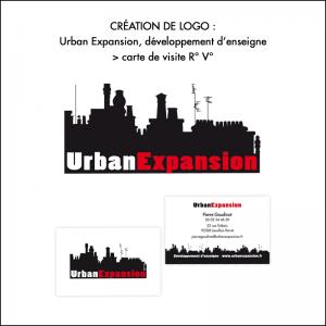 Logo + cartes de visite Urban Expansion