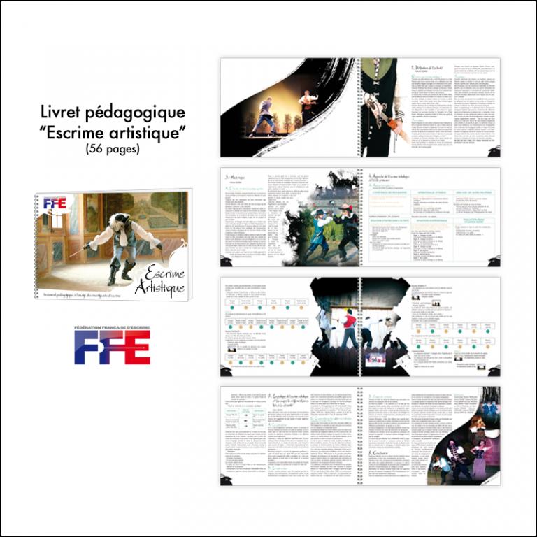 Création Livret pédagogique Escrime artistique // FFE