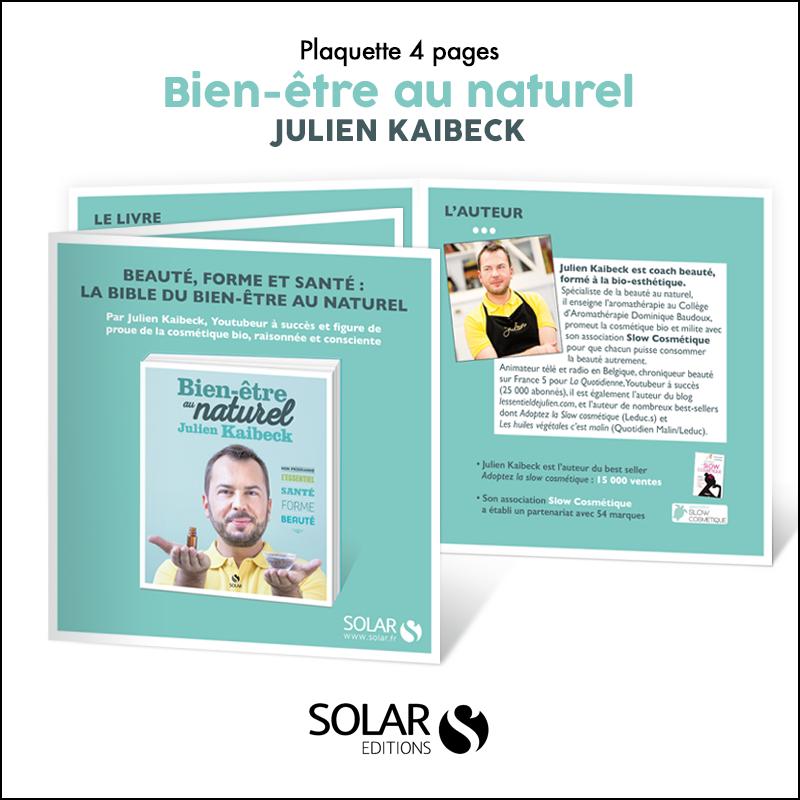 Plaquette Solar // Bien-être au naturel