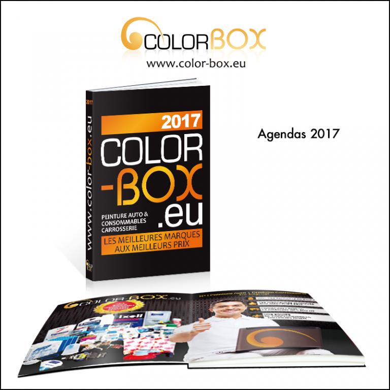 Création d\'agenda 2017 // Colorbox.eu