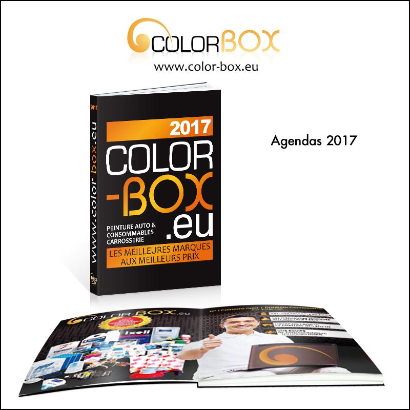 Création d\\\'agenda 2017 // Colorbox.eu