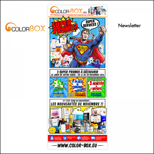Newsletter Promotionnelle // Colorbox.eu