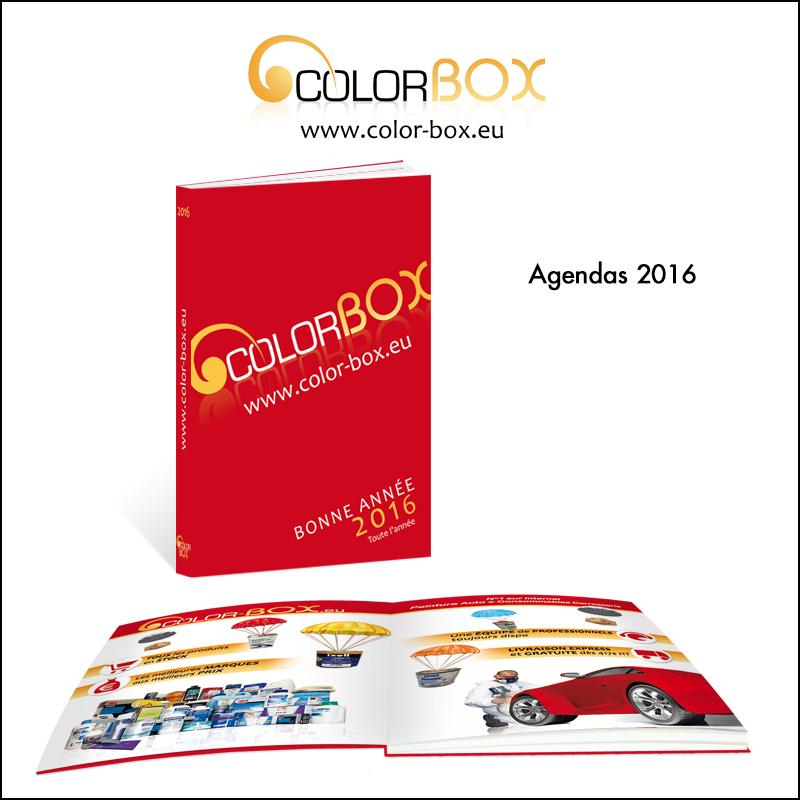 Création d\\\'agenda 2016 // Colorbox.eu