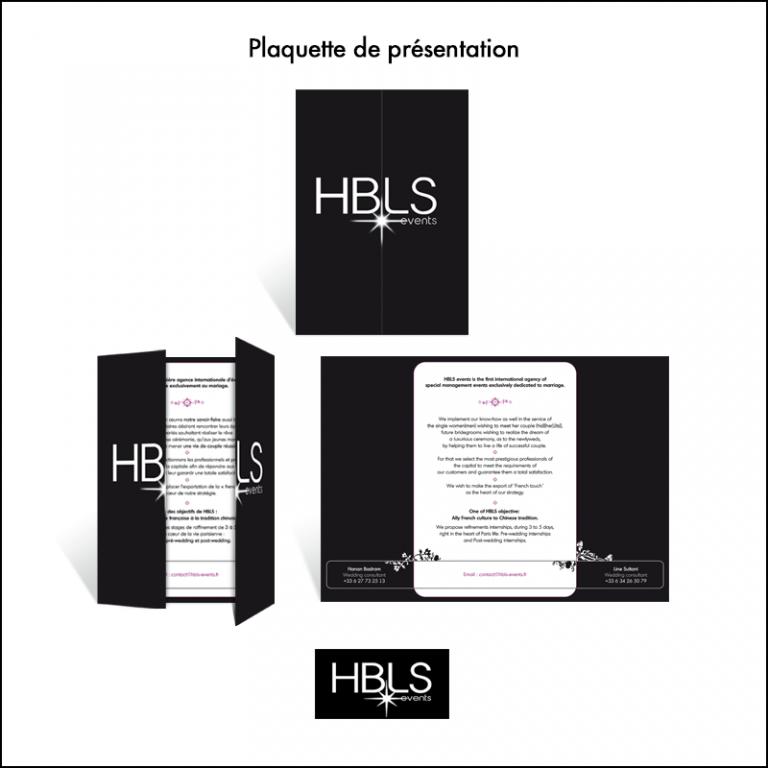 Plaquette HBLS Events // Agence d\'événementiel