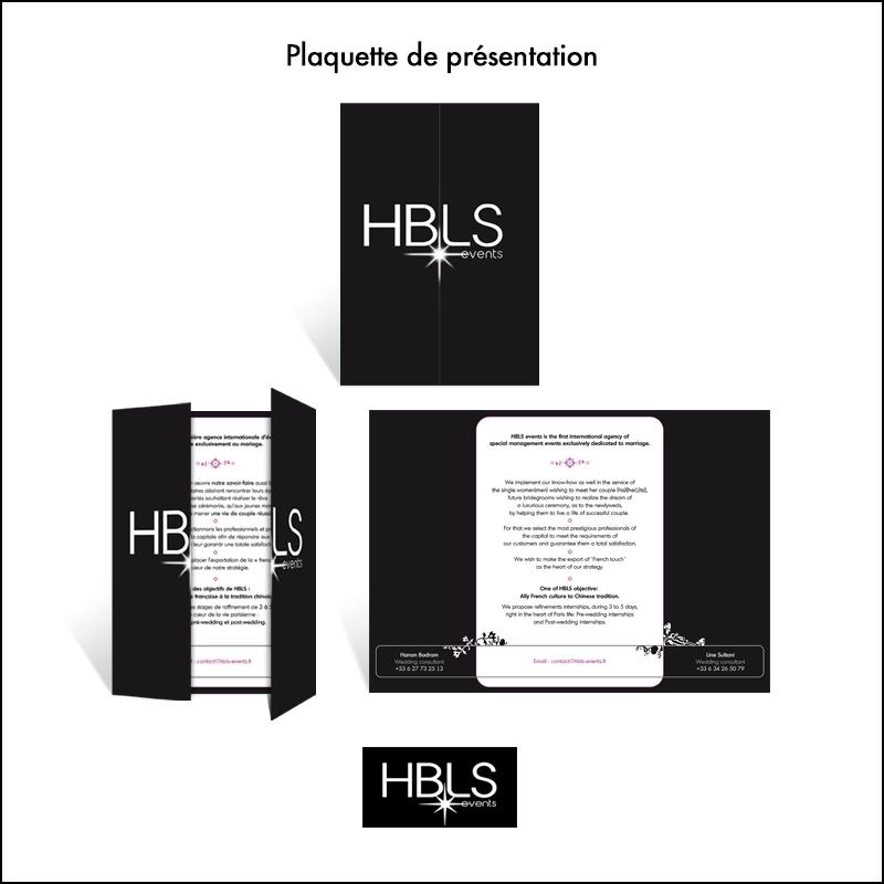 Plaquette HBLS Events // Agence d\\\'événementiel