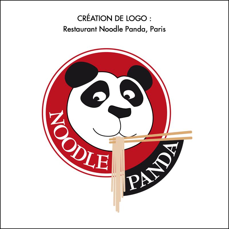 Logo Restaurant Noodle Panda
