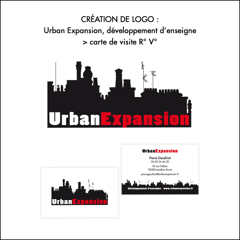 Logo + cartes de visite Urban Expansion