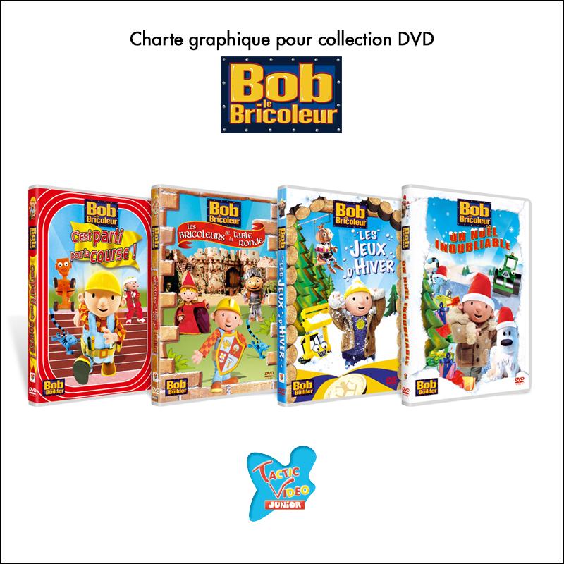 Charte graphique pour collection DVD // Tactic Video