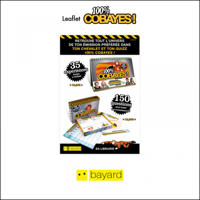Création Leaflet Bayard // 100% Cobayes