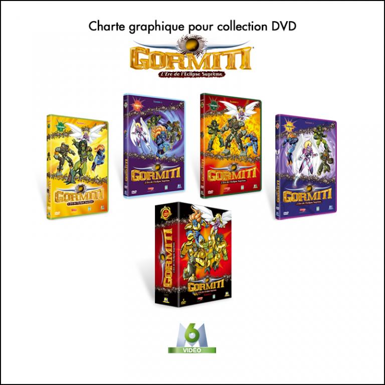 Charte graphique pour collection DVD // M6 Video