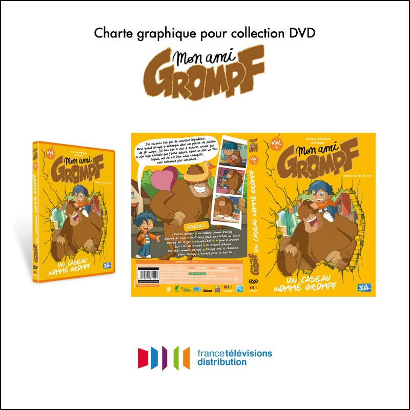 Charte graphique collection DVD // France Télévisions Distribution