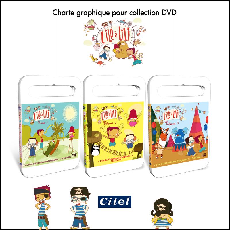 Charte graphique collection DVD // Citel Video