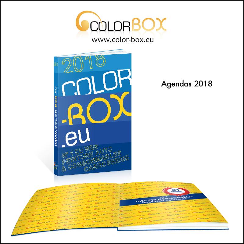 Création d\\\'agenda 2018 // Colorbox.eu