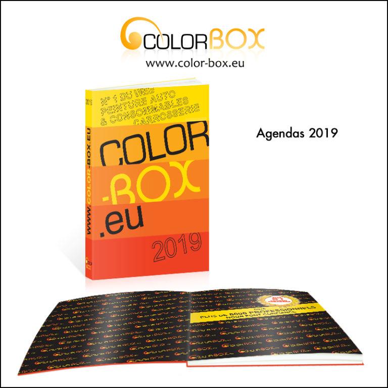 Création d\'agenda 2019 // Colorbox.eu