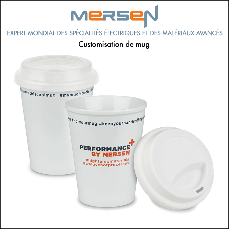 Goodies : Customisation de mug // Mersen