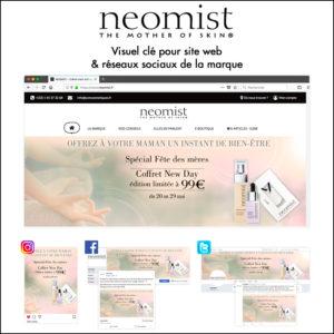 Bannière web + Publications Réseaux sociaux // Neomist