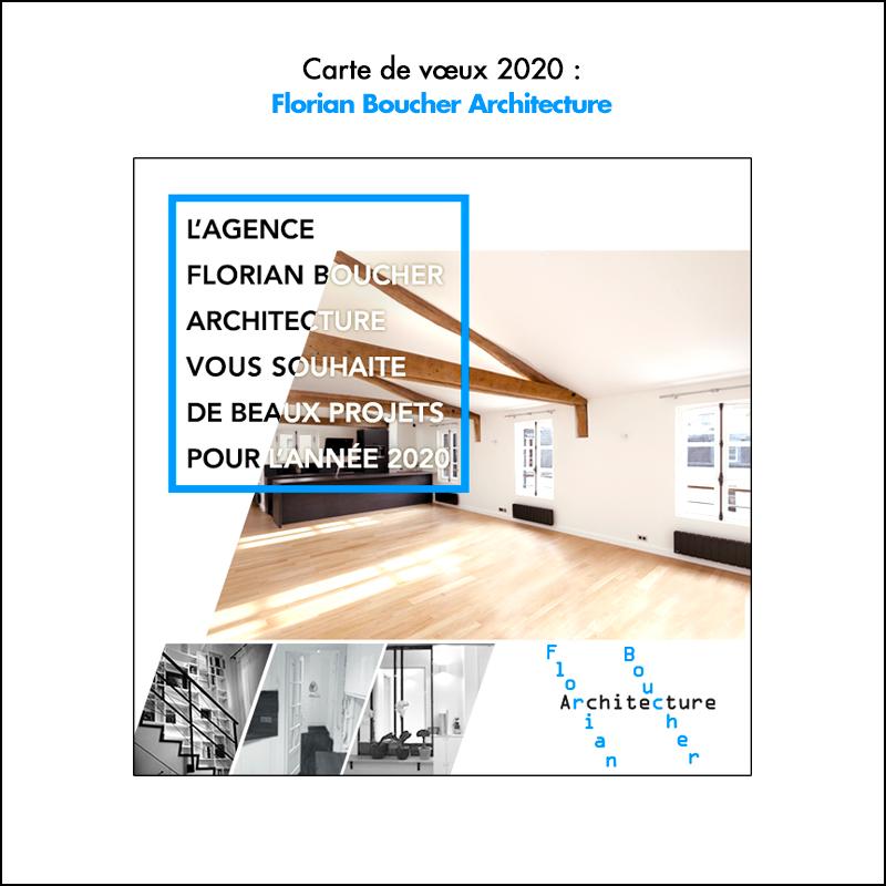 Carte de vœux 2020 // FB Archi