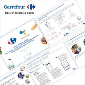 Dossier de presse digital // Carrefour France