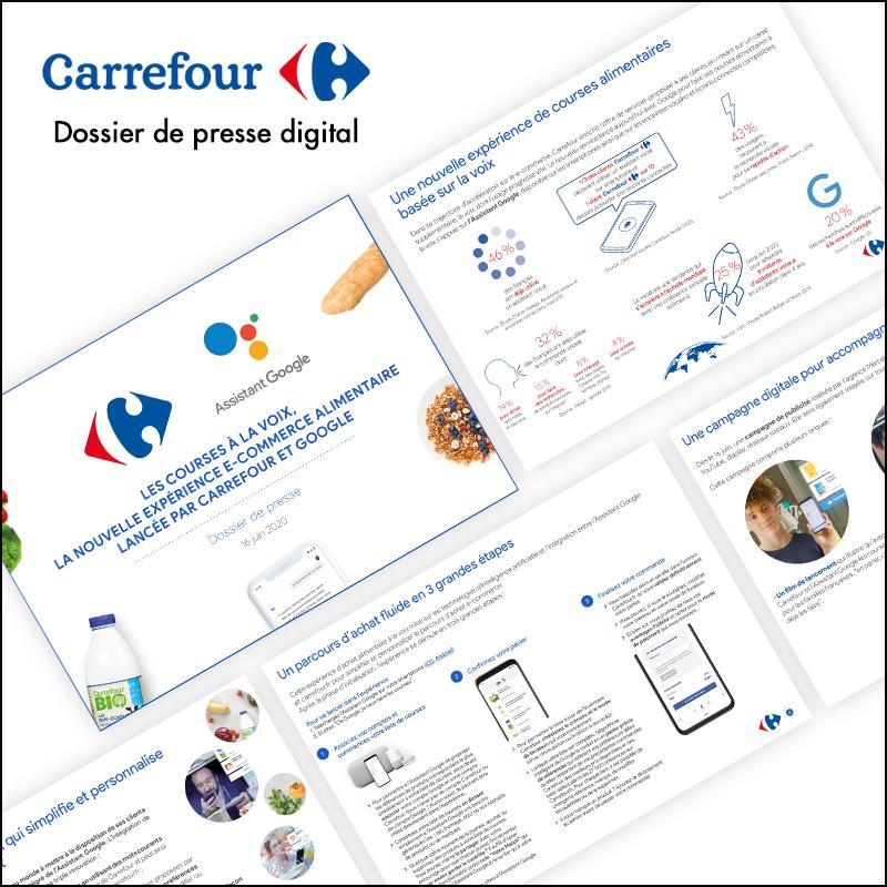 Dossier de presse digital // Carrefour France