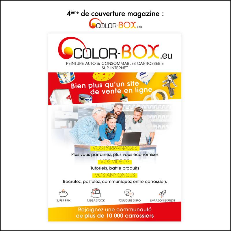 4e de couverture // Colorbox.eu dans Carrosserie Magazine
